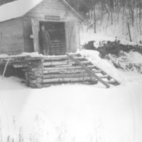Photograph of One of Many Canoe Houses That Used to House the Canoes Used in the Fire Patrol