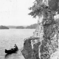 Photograph of Cliffs on Seagull Lake