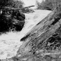 Photograph of the Falls of Isabella River Near the Ranger Station