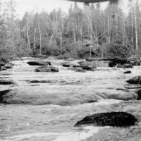 Photograph of the Rapids Just Below the Isabella River Ranger Station