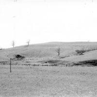 Photograph of Hillside View of B. A. Linn Farm on Siverly Road