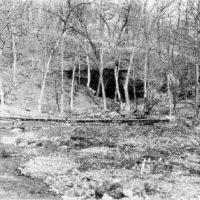 Photograph of Cave Springs a Half Mile East of Current River