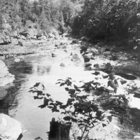 Photograph of Nelson's Canyon Near Lake Gogebic