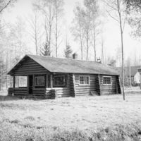 Photograph of Cabin of the Elmwood Guard Station