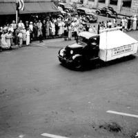 Photograph of Match Float in the Memorial Day Parade in Rhinelander, Wisconsin