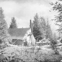 Photograph of Tent Camp Near the Jones Dam Camp Ground