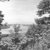 Photograph of View of Mississippi River from Old Tower Site