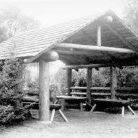 Photograph of Shelter in Recreation Exhibit from the Michigan State Fair