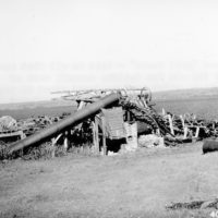 Photograph of Old Von Zellam Sawmill
