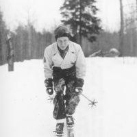 Photograph of Skier Bob Halvorsen