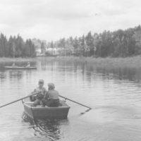 Photograph of Children Enjoying Water Sports
