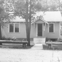 Photograph of Mack Lake Ranger Station