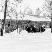Photograph of Silver Valley Log Warming Shelter