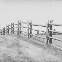 Photograph of Wood Rail Fence