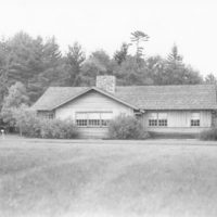 Photograph of Bunk House Number One at Forest Service Training School in Eagle River, Wisconsin