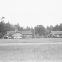 Photograph of Bunk Houses Numbers One and Two at Forest Service Training School in Eagle River, Wisconsin