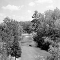 Photograph of Looking Down Pine River