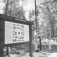 Photograph of Bulletin and Directional Information Board
