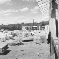 Photograph of Construction at Ripton Job Corps Conservation Center (JCCC)