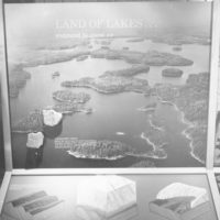 Photograph of Left Panel of the Geological Exhibit