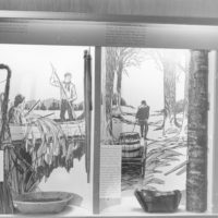Photograph of Wild Rice and Maple Sugar Exhibit