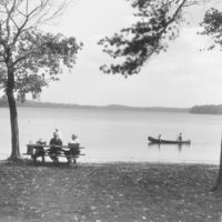 Photograph of a Newly Developed Day Use Area at Clarke Lake
