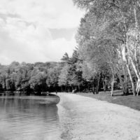 Photograph of Sand Beach on North End of Clark Lake
