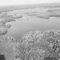 Photograph of Aerial View of Silver Island Lake