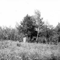 Photograph of a Settler on Submarginal Land