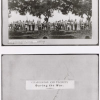 Photograph of Confederate Artillery Loading, Near Charleston, SC