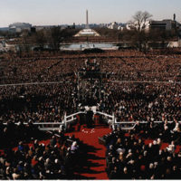 Photograph at President William J. Clinton's First Inaugural Ceremony