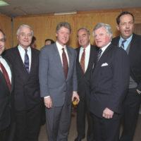 Photograph of President William J. Clinton at Rutgers University