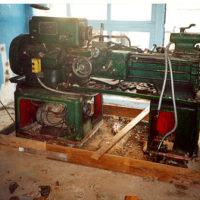 Ukraine - ICBM SILO - Dismantlement Project, WGI, March 2002 - Lathes