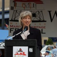 Visit of Secretary Gale Norton to Annapolis, Maryland, for ceremonies and related tours marking the transfer of the Thomas Point Shoal Lighthouse from the U.S. Coast Guard to the city of Annapolis and its non-profit partner, the U.S. Lighthouse Society