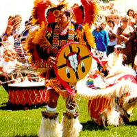 Logan Canyon Scenic Byway - Elaborate Dance at the Festival of the American West
