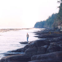 Strait of Juan de Fuca Highway - SR 114 - The Rocky Shores of Salt Creek Recreation Area