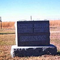 Wetlands and Wildlife Scenic Byway - Grave of Harriet and Napoleon Robinson
