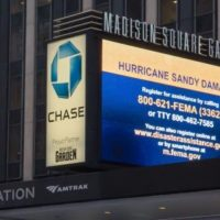 New York, N.Y., Jan. 2, 2013 -- Private Sector plays a vital role to FEMA and survivors. The registration message has been multiplied through displays in Times Square, Madison Square Garden, Radio City Music Hall, Lincoln Center, taxicabs, ferries, movie theaters and bus stops