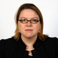 Official portrait  [and passport photo sitting for] Laurel Blatchford, Secretary's Chief of Staff